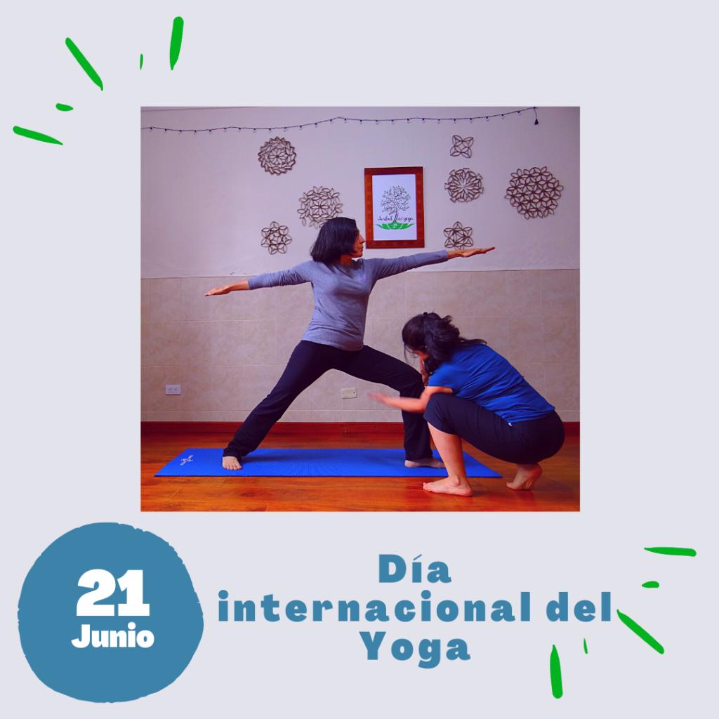 21 de Junio día internacional del yoga